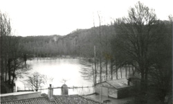 Photographies de crue à Saint-Crespin-sur-Moine