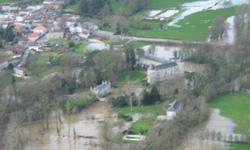 crue à La Forêt-sur-Sèvre